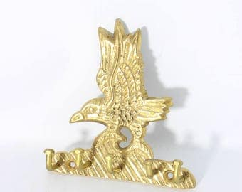 Brass Eagle Multiple Wall Hook