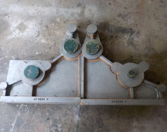 Set of 2 Large Bookend Style Industrial Molds