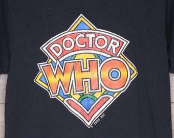 Vintage Original DOCTOR WHO Shirt [0035]