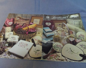 Counted Cross Stitch Patterns, Lavender and Old Lace, Vanessa Ann Collection, 1981