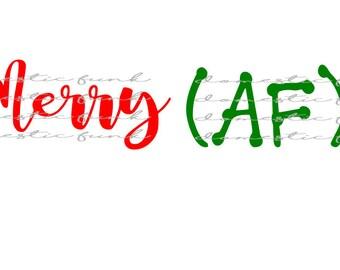 Merry (AF) & Jolly (AF) SVG