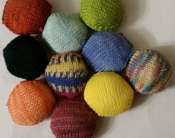 Selection of 10 Hexipuffs for the Beekeepers Quilt