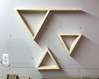 Special Order Triangle Shelves