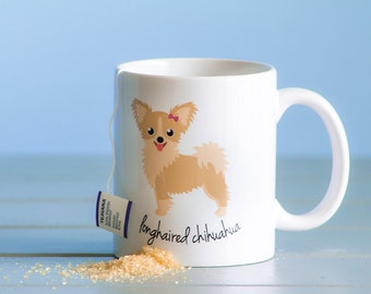 Chihuahua Mug (longhaired - girl)