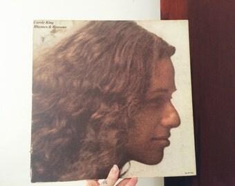 Carol King Rhymes & Reasons LP
