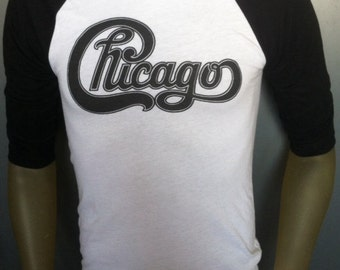 Chicago t-shirt american rock music tour band jersey