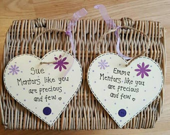 Personalised Mentor gift- student midwife, nurse. Thank-you gift
