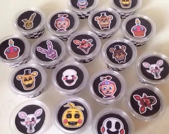 FNAF 5 Nights At Freddy's Mini 2oz Party Favor Cups Party Supply