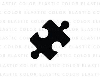 Puzzle svg - puzzle clipart  - puzzle piece clip art digital download svg, png, dxf, eps