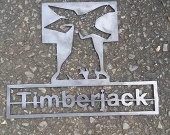 Timberjack Sign