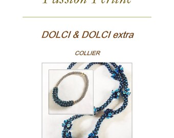 Pattern necklace DOLCI & DOLCI extra