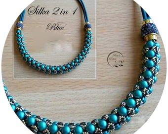 KIT diy necklace SILKA amovible 2 in 1