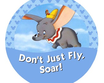 Don't Just Fly, Soar! – Dumbo