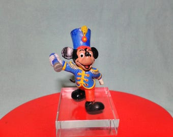 Old Mickey figure parading mark Comic Spain years 80s with tara