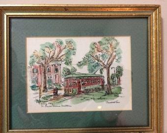 St. Charles Avenue Streetcar, New Orleans, Louisana