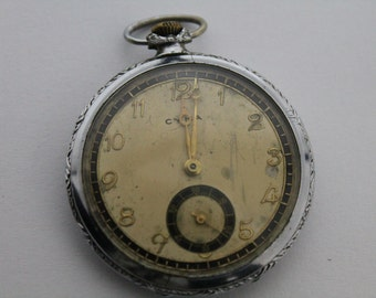 Vintage swiss pocket watch CYMA