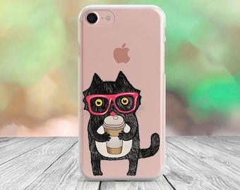 Cat iPhone 6s case iPhone 7 Plus case clear iPhone 7 case iPhone 6 case iPhone 5s case Samsung S7 case Samsung Note 4 case Samsung S7 Edge