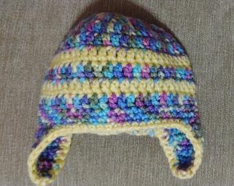 Ear Flap Hat 3-9 Months