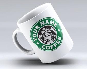 Personalized Starbucks Mug, Starbucks Coffee, Starbucks mug, Starbucks Cup, Starbucks, Custom Starbucks Mug