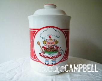 Vintage Campbell Kids™ Ceramic Cookie Jar