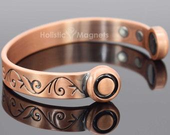 Copper Magnetic Bracelet Mens Womens |Celtic Bracelet |Arthritis Health  Bangle|Gift For Men|Gift For Women|Copper Magnetic Healing Bracelet