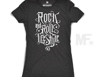 Rock 'n' Roll Lifestyle - Women's tshirt