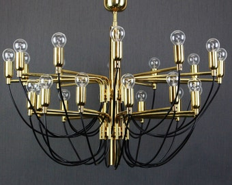 Huge Sputnik Chandelier Sarafatti Stil - Germany, 1970s