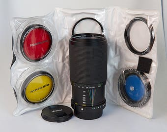 Vivitar MF 80-200mm for Pentax with Filters
