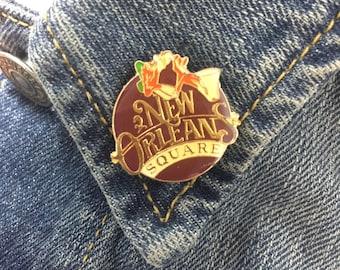 Vintage New Orleans Square enamel lapel pin (stock# 646)