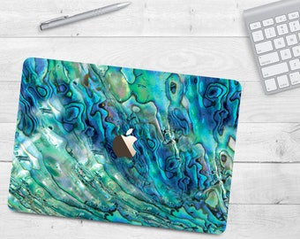 Abalone Shell Case Macbook Air 11 Air 13 Pearl Macbook Cover Pro 13 15 Shell Hard Case TB Macbook 12 Macbook Shell Case for 13 15 Touch Bar