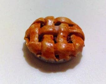Dollhouse Miniature 1/6 Scale Cherry Pie