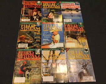 Vintage 1994 Field and Stream Magazines