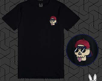 Cool Kid Skull T Shirt
