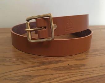 Bridle Leather Belt Etsy