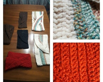Hand Crocheted Infinity Scarves - Long