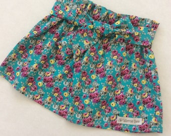 Little Girls 'Vintage Rose' Skirt