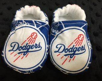 Los Angeles Dodgers Crib Shoes