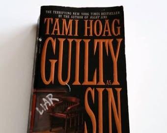 Guilty As Sin by Tami Hoag   Paperback Crime Thriller