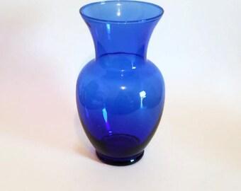 Cobalt Blue Bouquet Vase
