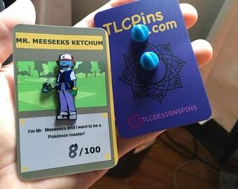 Mr Meeseeks Ketchum Enamel Pin