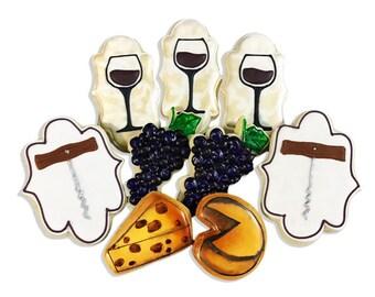 Wine & Cheese Cookies - 2 Dozen