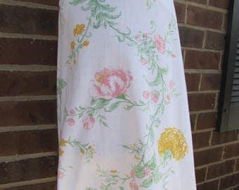 Girls size 4 full swing dress vintage fabric