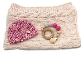 Crochet Baby Blanket / newbor set/ babyshower gift