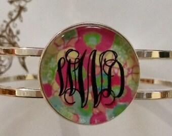Simply Southern Monogrammed Bangle Bracelet