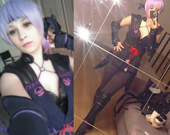 Dead or alive 5 Ayane cosplay costume and armor