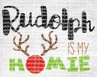 Reindeer Svg Cut Life - Rudolph Svg Cut File - Rudolf Svg - Rudolf Png - Rudolf Cut file - Christmas Svg - Christmas Png - Cut file