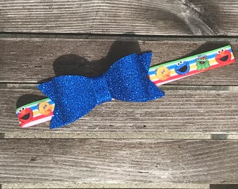 Sesame Street Headband, Elmo Headband, Cookie Monster Headband