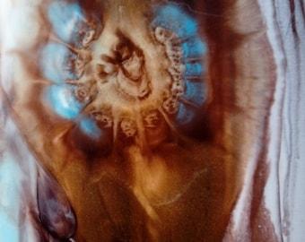 Seanse,Original Resin Art, Abstract Floral Painting, Large Wall Art, Epoxy Resin Painting, Abstract Painting, Resin Art,