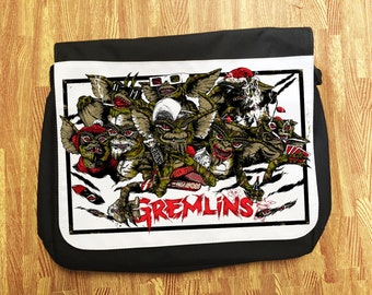 Gremlins Retro Horror Movie Messenger School/College/Uni Bag