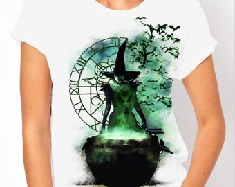 Wicked: Elphaba - Wicked Witch of the West, Wizard of Oz Women's T Shirt